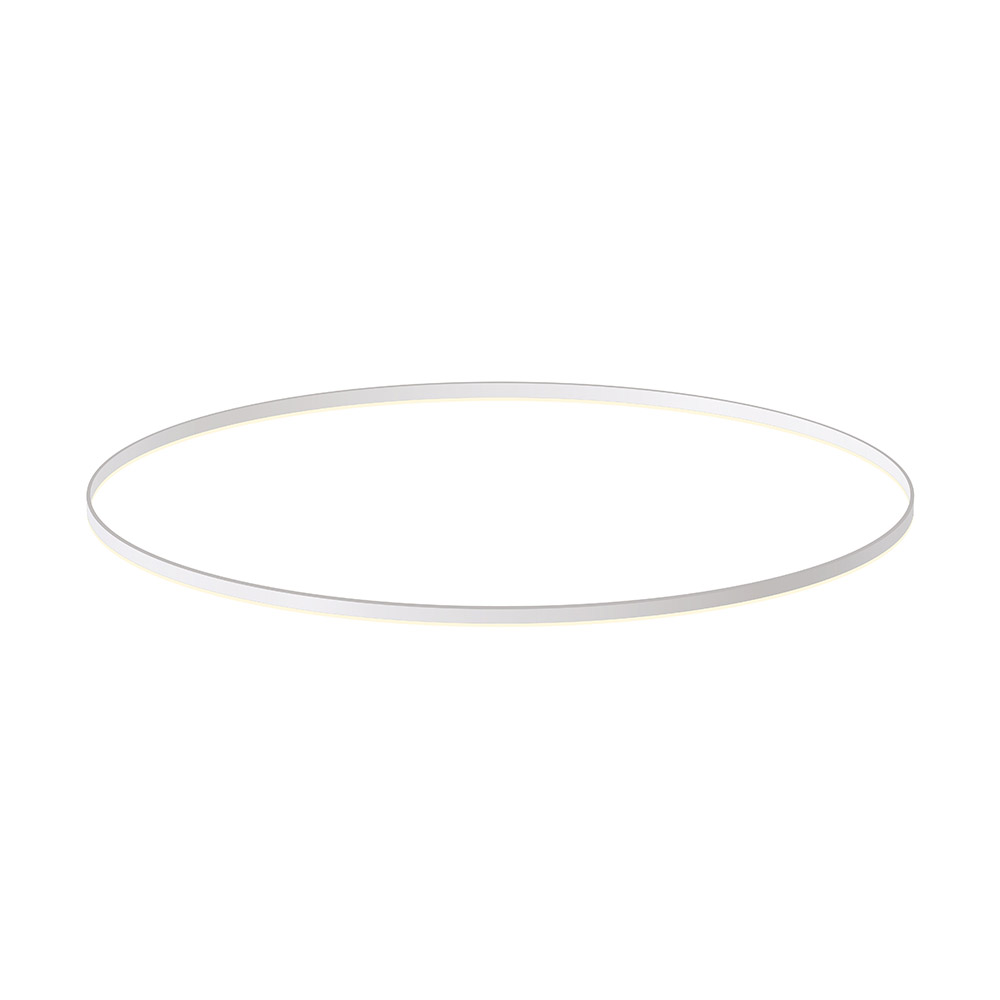 KIT - Perfil aluminio circular RING, Ø1500mm, blanco